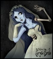The Corpse Bride - Her Dream by mistressmariko