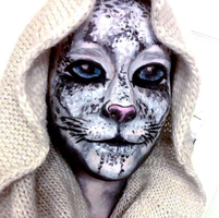 Attempt at a Snow Leopard by chantithefox