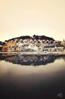 Port of Farsund by bluetogray