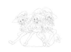 Halloween 2011 lineart by emperpep