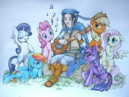 The Song of a Bard by Z-N-K