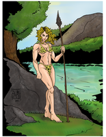 Jungle Girl by KyVin16