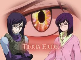 Tieria Wallpaper by Arett