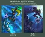 Draw this again! Meme - Zero versus Leviathan by digitallyfanged
