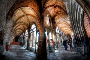 Avila Claustro HDR by langusmaiden
