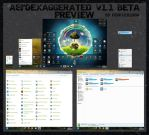 AeroExaggerated Beta 1.0 (AeroEX) (64Bit) by Doom101don