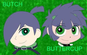 Butch and Buttercup ppgz by BoomerXBubbles