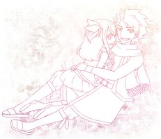 FT: Natsu and Lucy by Ur-Style