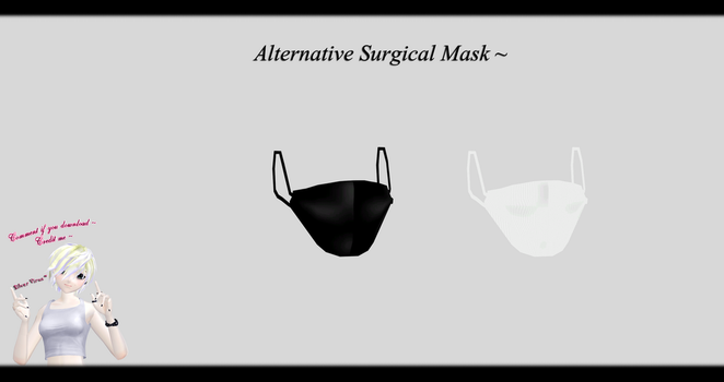 [MMD] Alternative Surgical Mask DL ~ by o-DSV-o