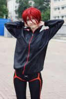 Matsuoka Rin cosplay, Asia Breeze 2013 by Shiera13