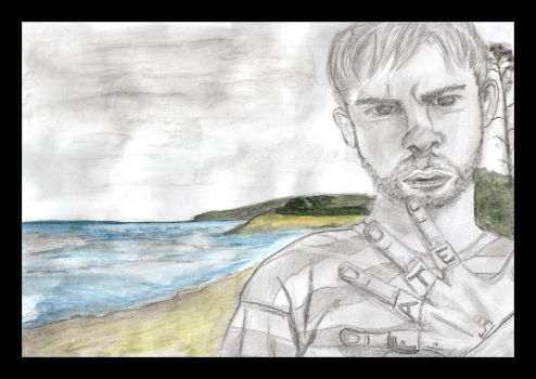 Dominic Monaghan by hanzblix