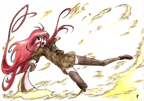 Shakugan No Shana by BluLizard