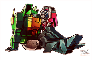 Springer/Arcee -colors- by CatusSnake