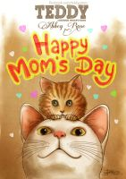 Teddy - Happy Mother's Day by dangoh