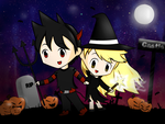 Specialshipping Halloween by sonicandmario4ever