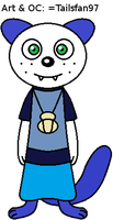 Binky the Oshawott by FluffyFerret97