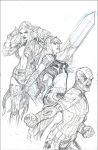 Uncanny X-Men 21 Variant Cover Pencil by TerryDodson