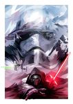 Star Wars Force Awakens tribute by mobokeh