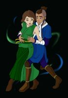 DANCE - Sokka and Suki by TobuIshi