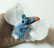 Micro Monster Blue and White Batterfly - For Sale by superayaa