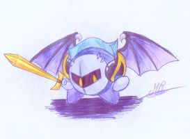 New icon: Meta Knight by MetyRyuma
