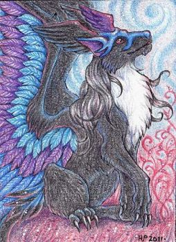 ACEO Trade: Mistress of Air by Agaave