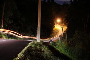 Forrest car light by TroyCa