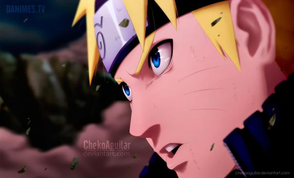 Naruto Manga 692: I'm going to end it here! by ChekoAguilar