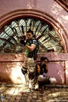 Re5 cosplay shot by Chris--Redfield