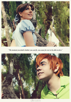 Peter Pan and Wendy by Phadme