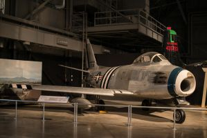 North American F-86 Sabre by PLutonius