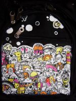 Wild Things Backpack by someorangegirl