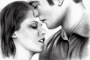 Bella and Edward by Vickki101