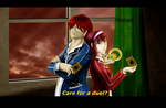 CE - MelanAnime - Care for a duel? by Adalgeuse