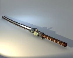 Katana Chainsaw by Dima91