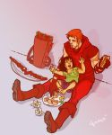 Roy and Lian Harper by lorainesammy