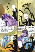 Twilight vs Slenderman by CIRILIKO
