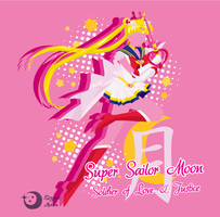 Super Sailor Moon T-Shirt Design by Sigma-Astra