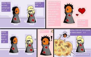 deidara tobi funny comic by lila-melon