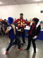 Eggman Joins the Fight! by deathraven479