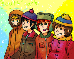 Goin' down to South Park by okakopa