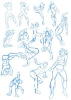 hip hop poses by xong
