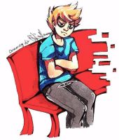 IHE Angry on a Bench LOL by Daleeny