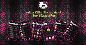 Hello Kitty pink Nerd SSlauncher by LadyPinkilicious