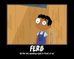 Ferb poster by AgentBengalTiger