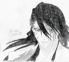 Bleach: Byakuya -5- by 19Skejciara10