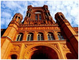 Rotes Rathaus II by SineLuce