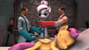 [SFM] Medical mistake by HazelGans