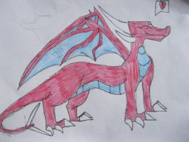 Rubin the Dragoness by NewMoon-Dragoness