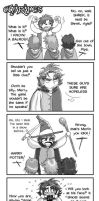LOTR -doujinshi strip- by ZoeyHuerta